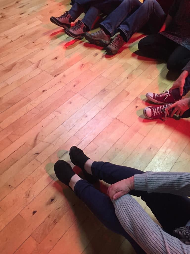 Workshop 2 feet & legs