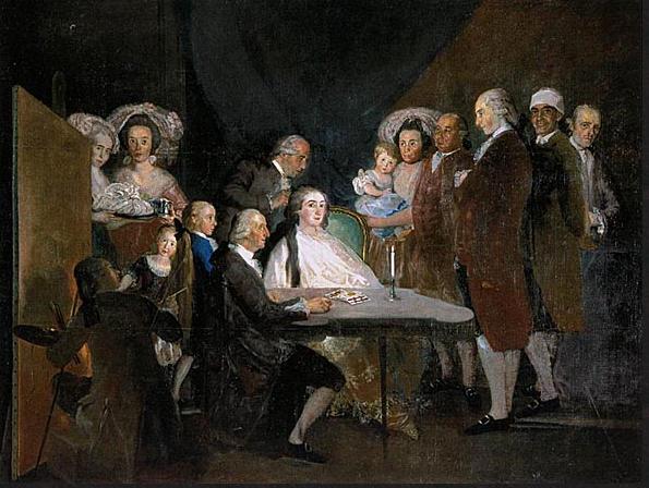 GOYA 1 - Infante Don Luis 1783