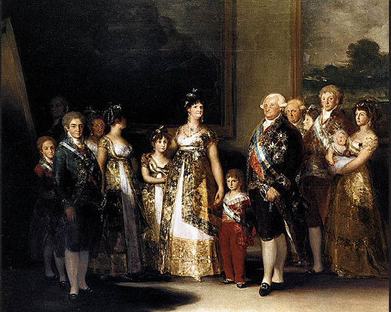 Goya 2 Charles II and his family.png
