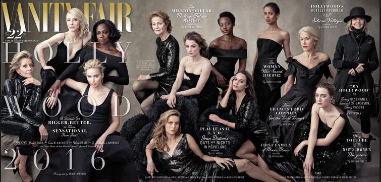 Annie Liebovitz: Vanity Fair cover