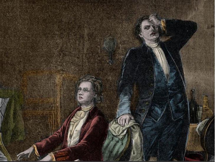 Salieri :Mozart - Day 7