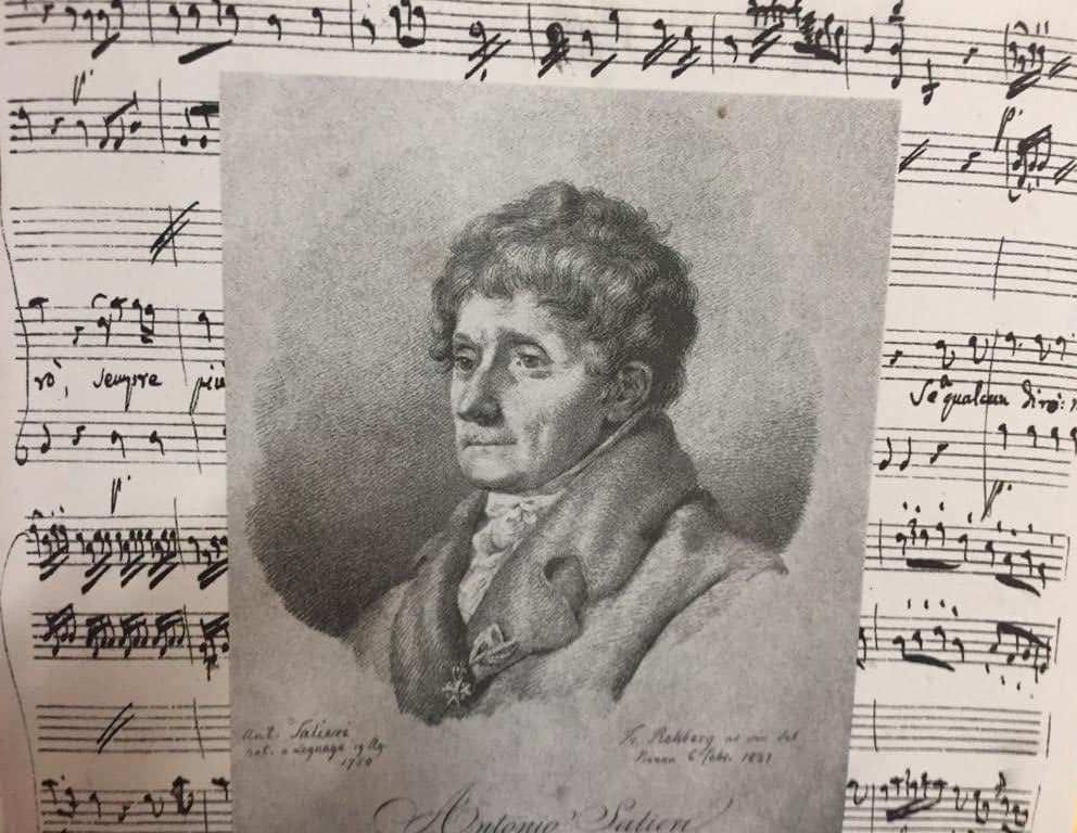 Salieri as an older man
