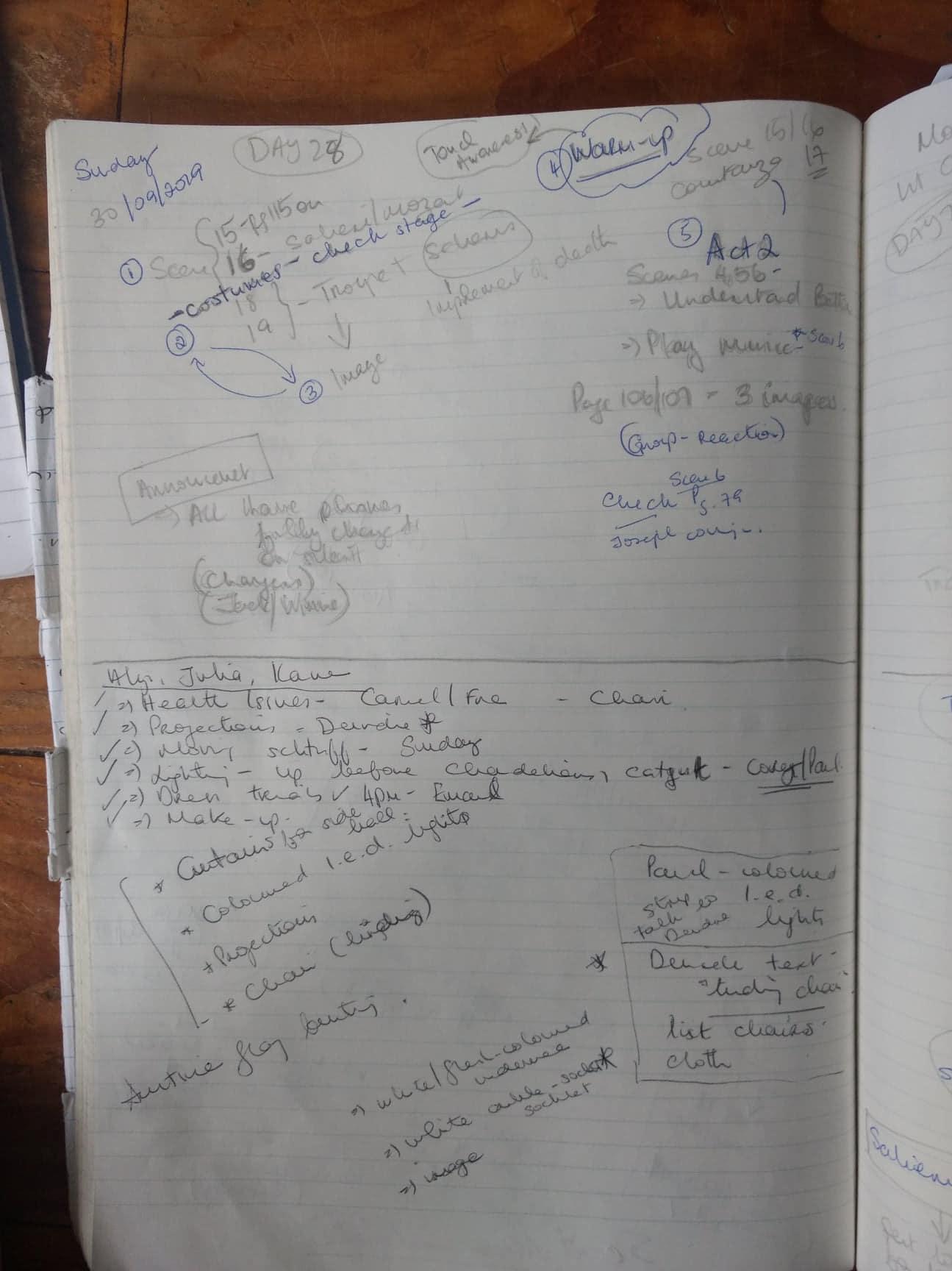 Notes - Blog 28:29