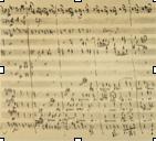 Mozart's score